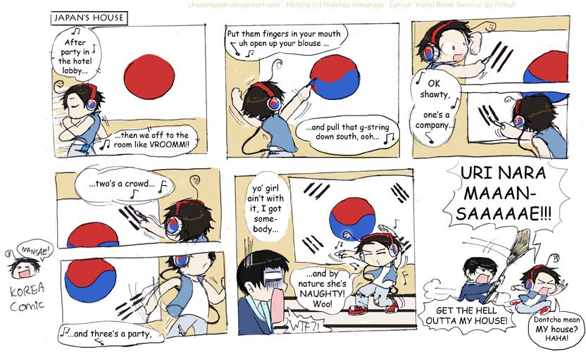 Korea While Lstning 2 Pitbull By Chocoreaper On Deviantart