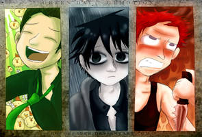 Green Day - 3 Emotions by Chocoreaper