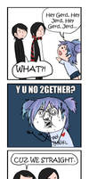 30STMCR+ Y U NO + Nyoron comic by Chocoreaper