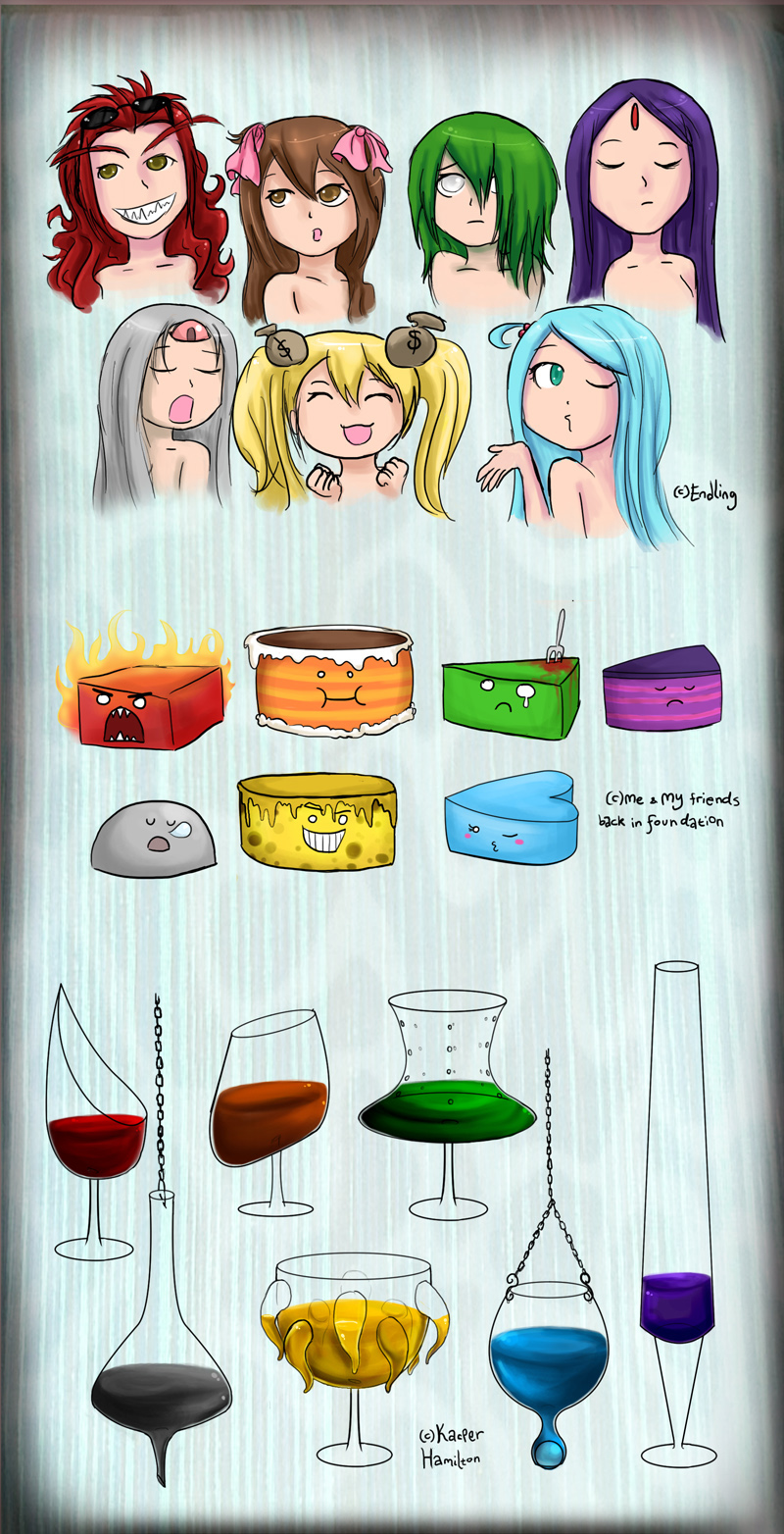 7 Deadly Sins Wine Glasses 7sins Girls Cakes Wineglasses By Chocoreaper On Deviantart