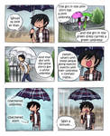 Matchy-matchy umbrellas