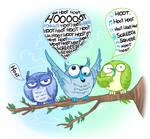 Owltober 17th: MicroblogOwls