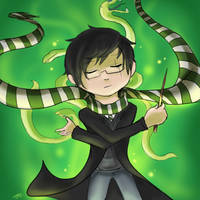 So I finally entered Pottermore... by Chocoreaper