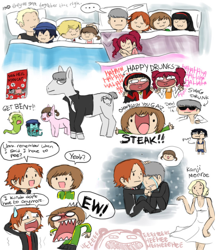 Persona 4 Doodles By Chocoreaper On DeviantArt