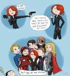 Avengers: Because GUNS.