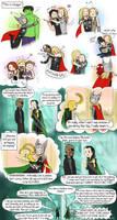 Thor is a hugger