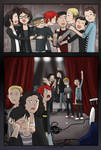 Hugging them a farewell - MCR+FOB