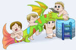 Chibi Baby Imagine Dragons