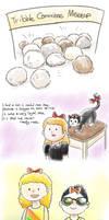 ruby + tribble + eevee doodledump