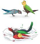 Rhettbird and Linkbird