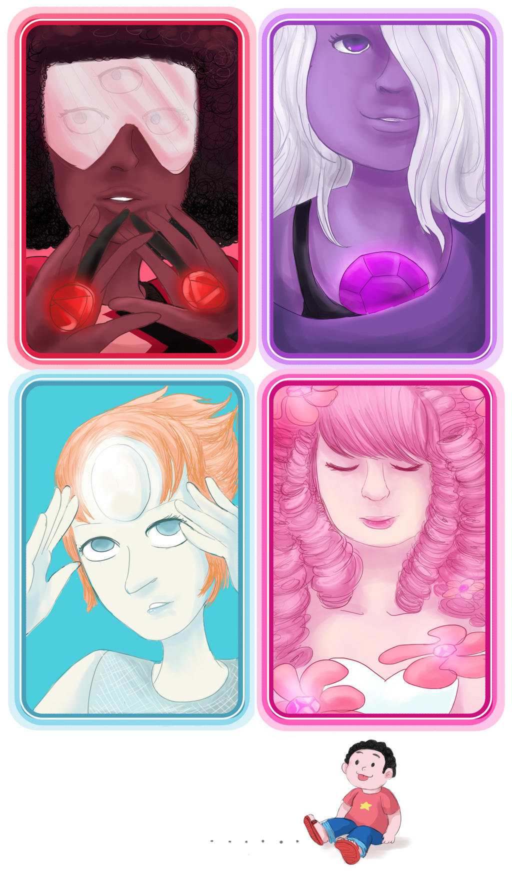 Crystal Gems by Chocoreaper