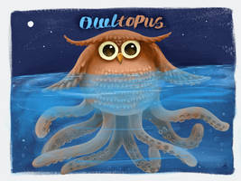Owltopus by Chocoreaper
