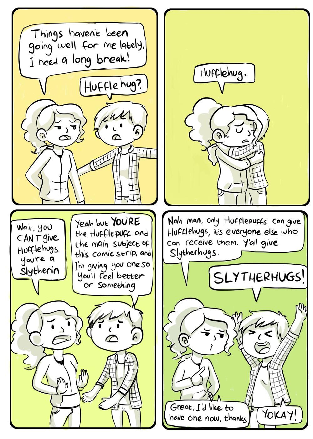 Hufflehug? by Chocoreaper