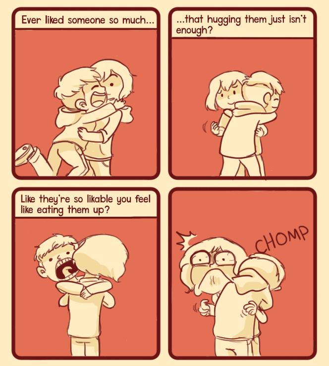 Hug-Chomp by Chocoreaper