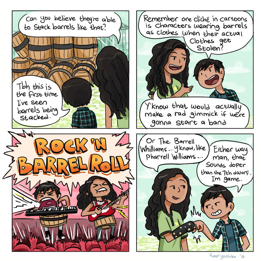 Rock N Barrel Roll by Chocoreaper