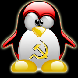 communist tux by r3b31