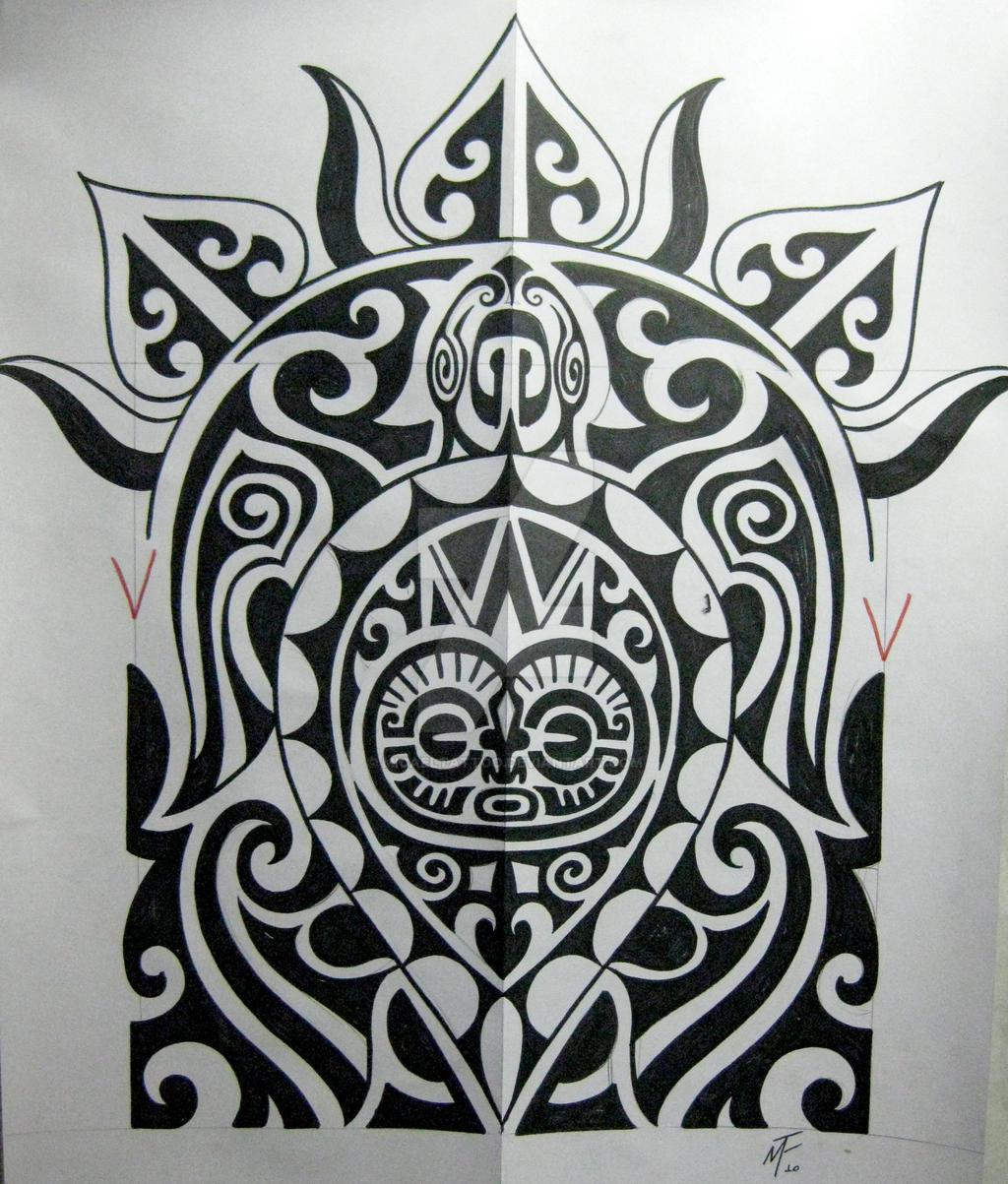 Maori Tattoo Designs Wallpaper: Polinesian Turtle By Micaeltattoo On DeviantArt