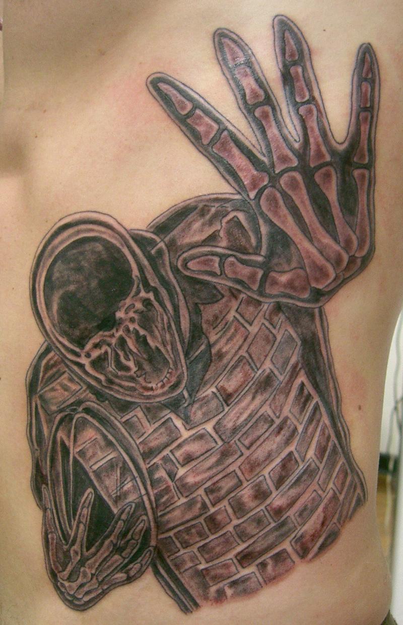 Rugbi x ray tattoo by micaeltattoo on deviantart for X ray tattoo