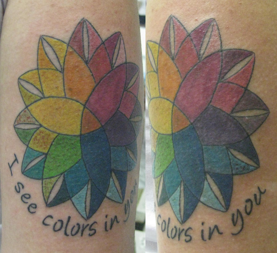 Color picker Mandala Tattoo by ~micaeltattoo on deviantART