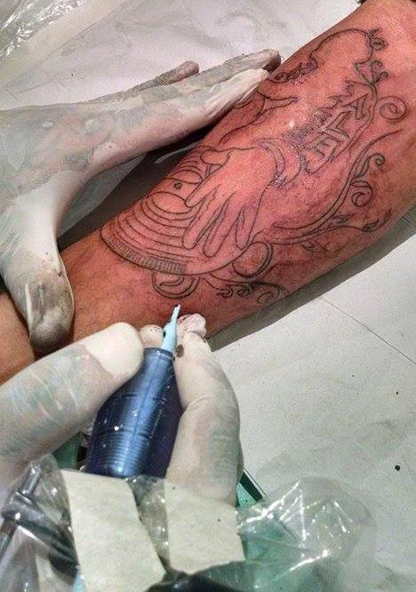 DJ tattoo 3rd by micaeltattoo