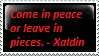 Xaldin says by omg-Ukilled-kenny