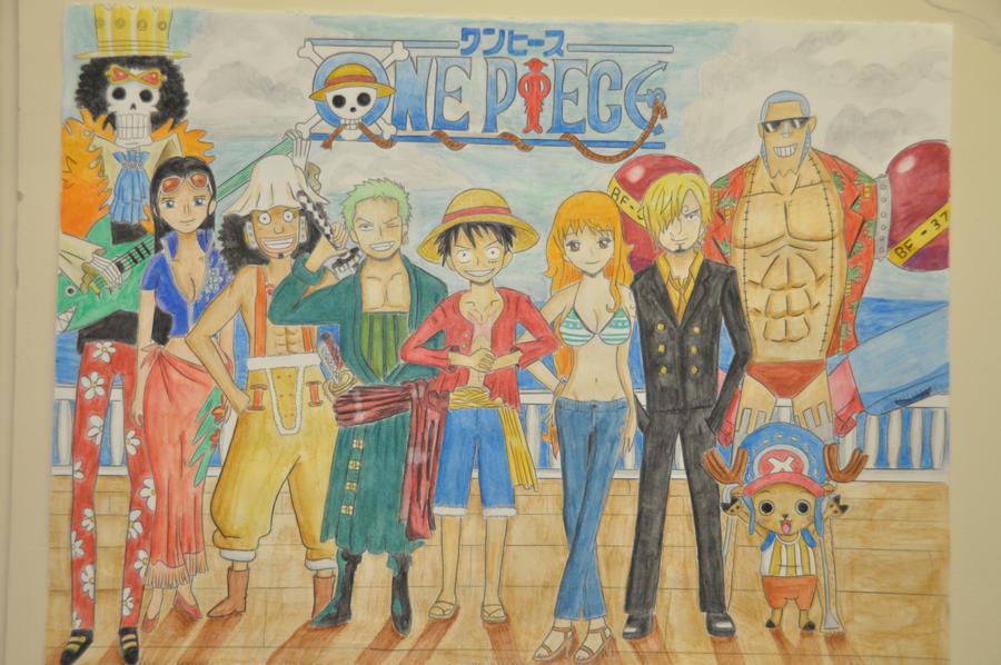 One Piece Crew Wallpaper Timeskip