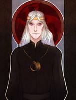 Aegon III Targaryen by YunonaD