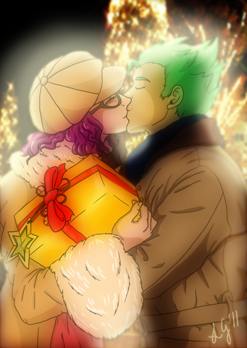 Chrono Trigger Happy Holidays 2011 by CallMeMarle