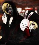 Attack on Ghoul / Tokyo Titan by CallMeMarle
