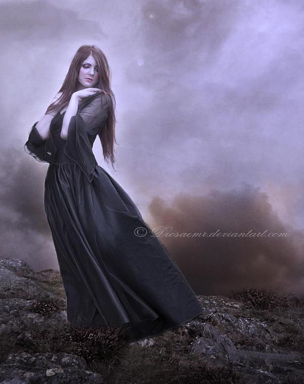 Nothing behind me.. by DiosaEMR