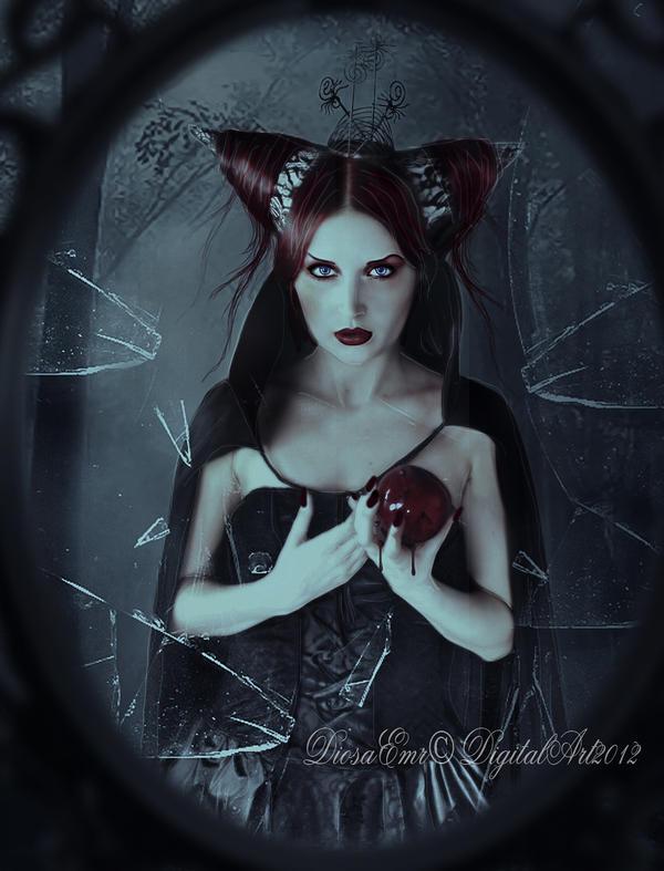 Mirror, cursed mirror.... by DiosaEMR