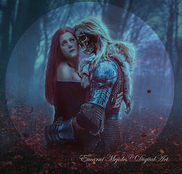 Inmortal embrace by DiosaEMR