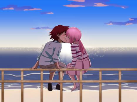 ( bnha oc ) first kiss