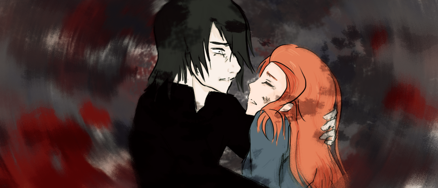 Lily+Snape - Reset Button by DiscoPower
