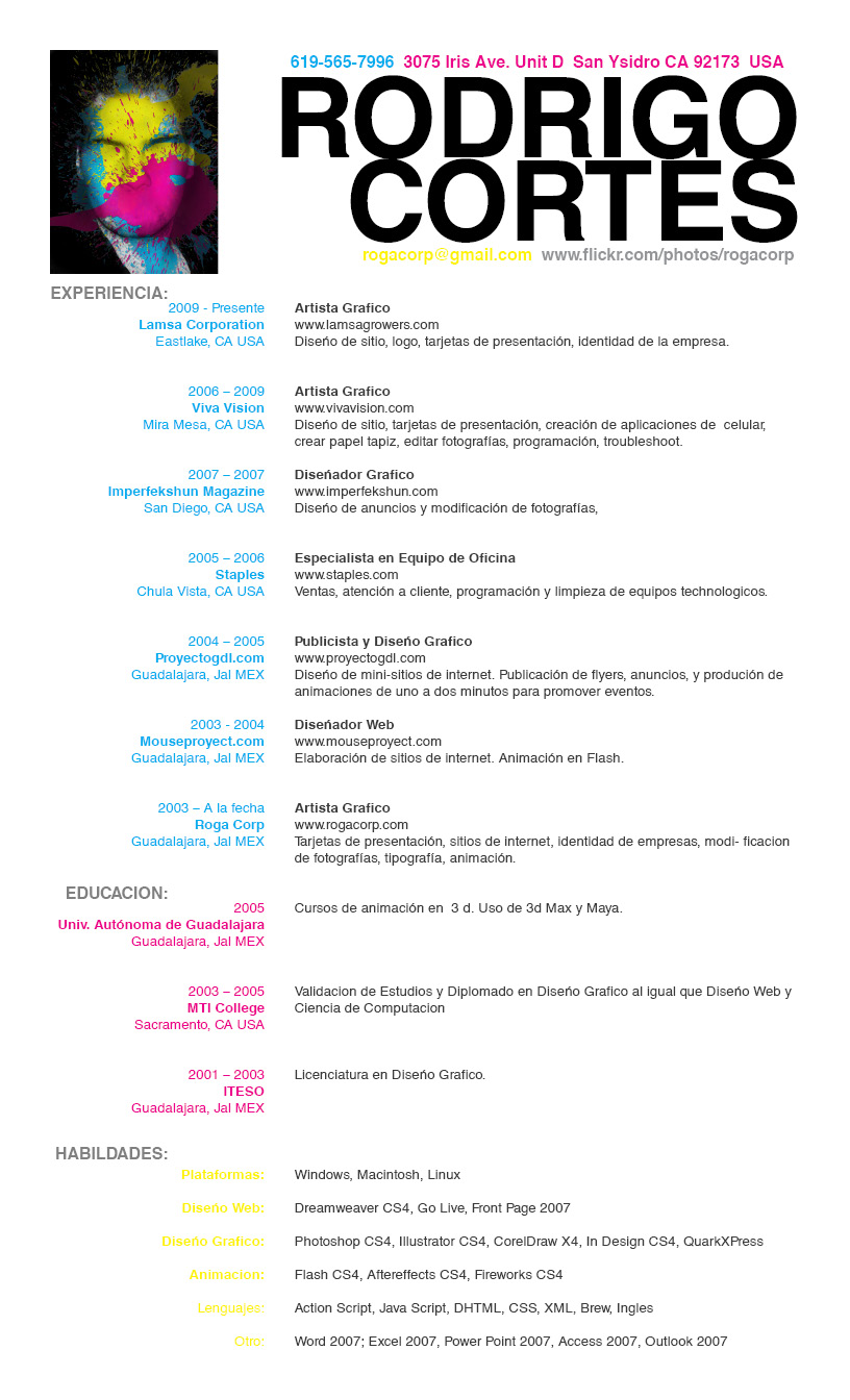 best resume designResume Espanol by rogaziano on DeviantArt aD0DPDPh
