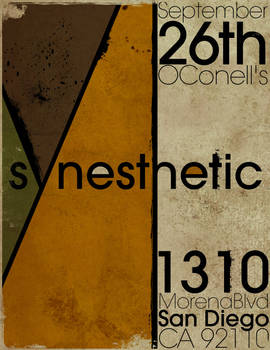 Syneshetic O'Connell's 2