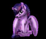 MLP Twilight Sparkle Wolf Version