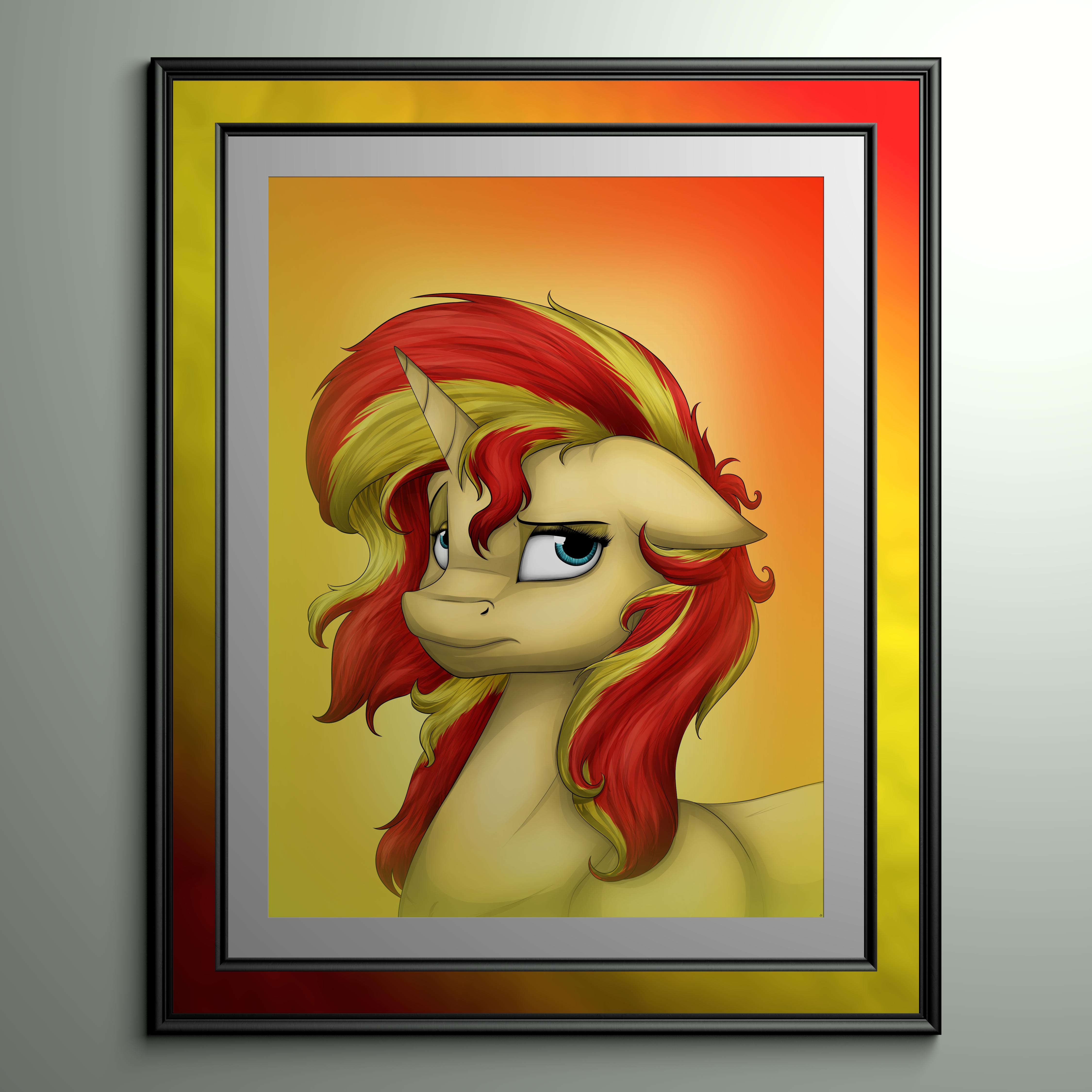 Sunset Shimmers Portrait