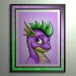 Spikes Portrait