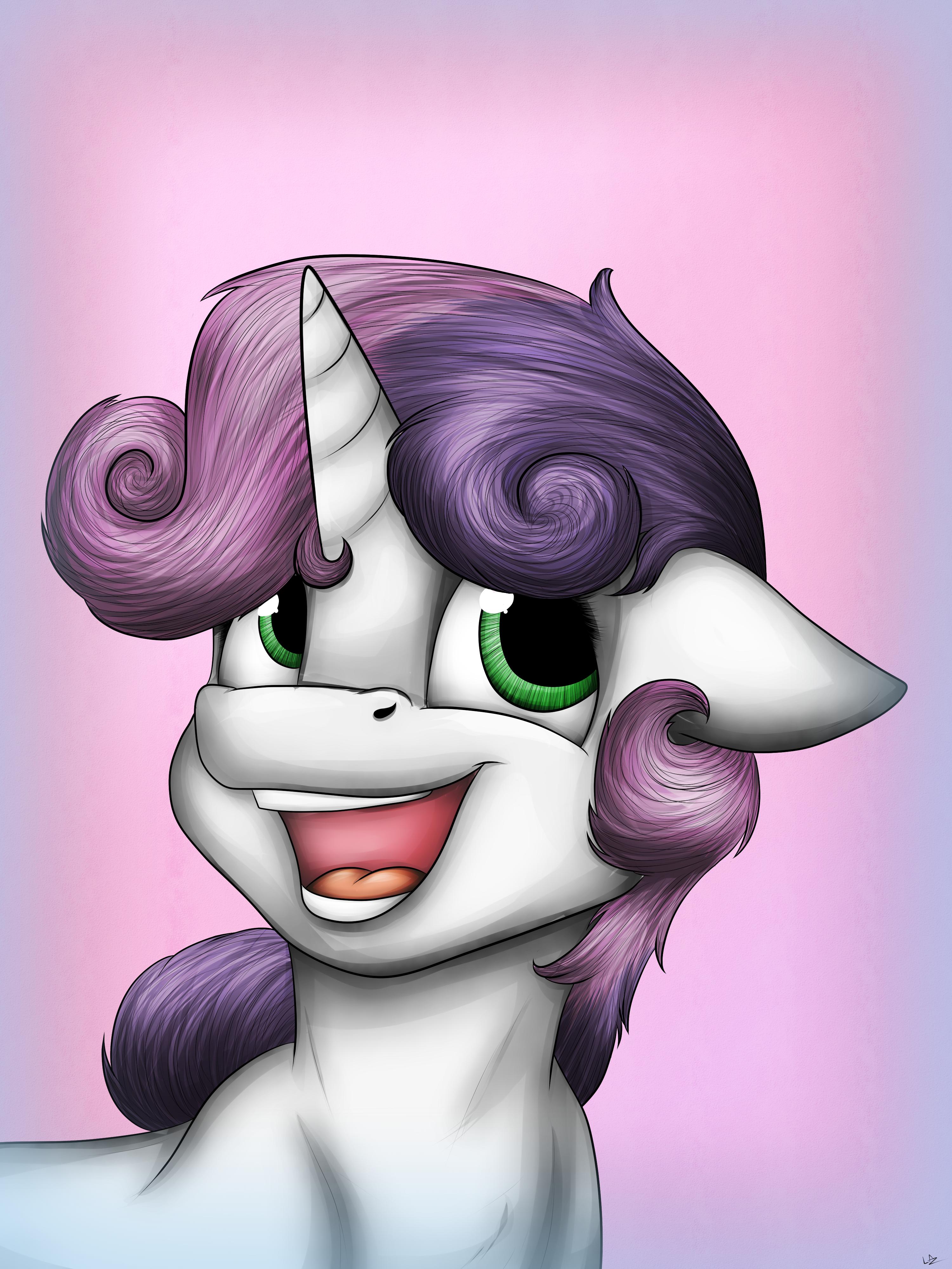 Sweetie Belles Portrait (original)
