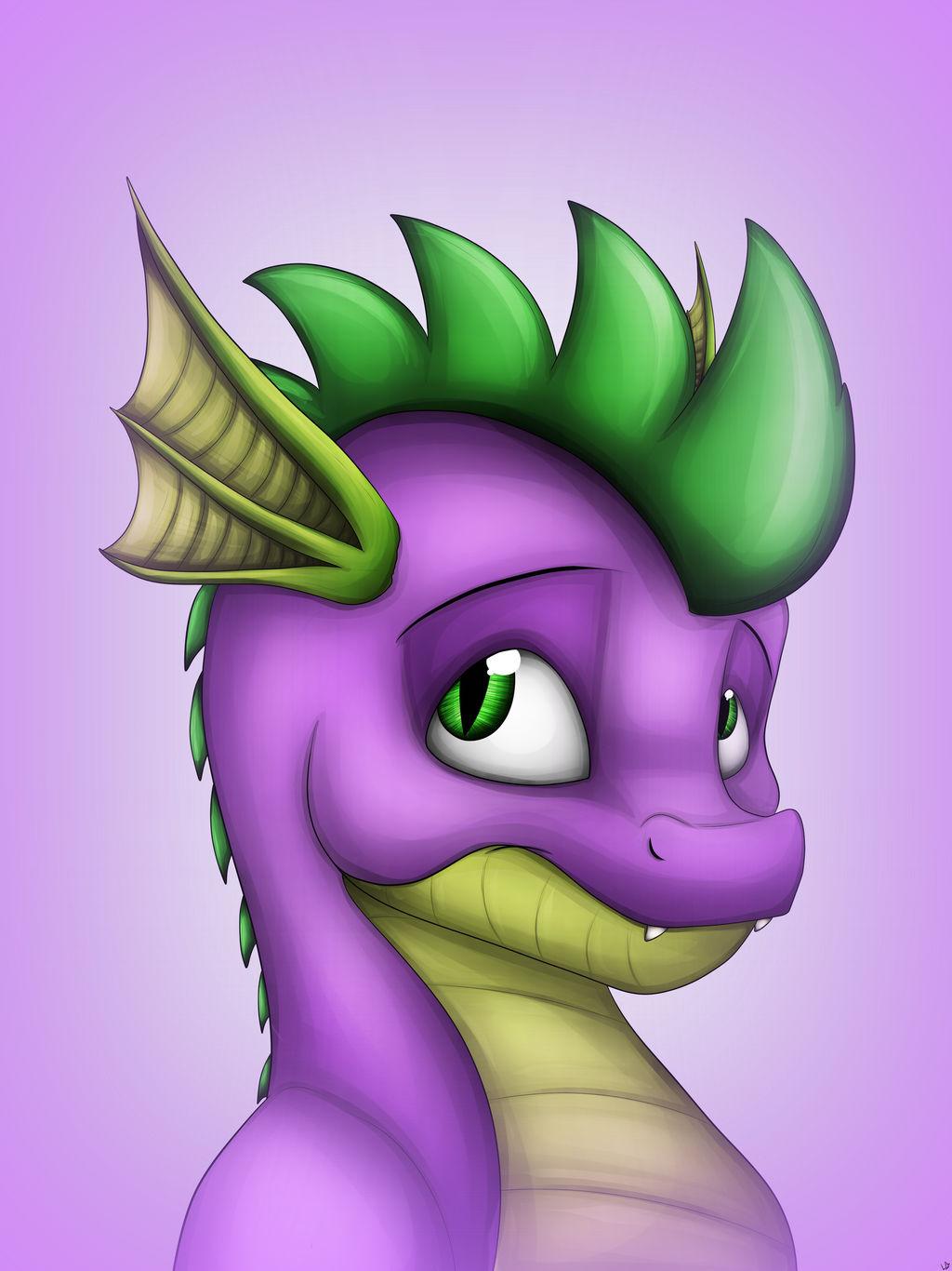 Spikes Portrait (original)