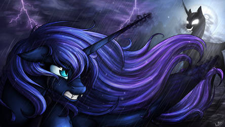 In Umbra Luna est by LupiArts