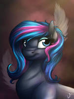 Scribbler's Portrait by LupiArts