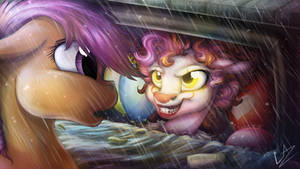 'You'll Float, Too.' (Contest Entry+Speedpainting) by LupiArts