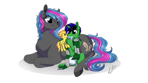 Momma Scribbler by LupiArts