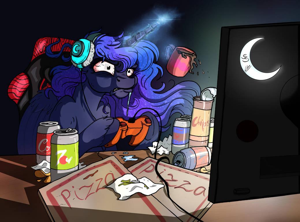 Comic Sins - Raging Gamer by LupiArts