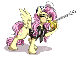:COMM: Flutters Referee by LupiArts