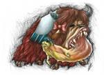 My Creepy Pony - Yona and Sandbar by LupiArts