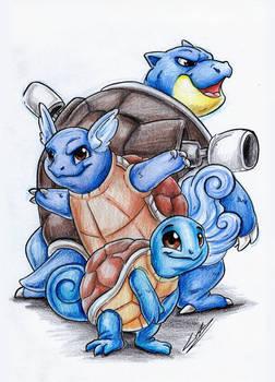 PokeDrawings - Squirtle
