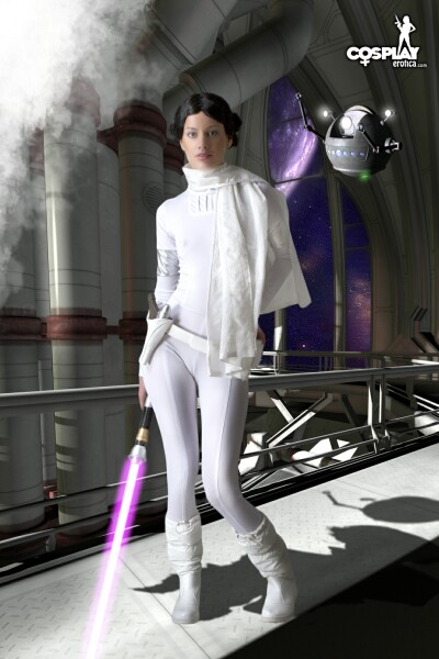 Marylin for StarWars fans by cosplayerotica